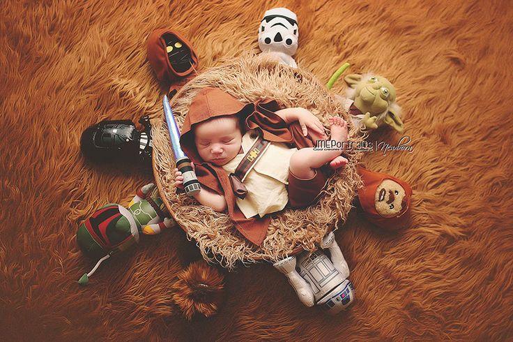 De Mário a Hobbit, aqui tem uma série de imagens de bebês geeks que deixaram muito mais legais aquelas fotos de recém nascidos *-*
