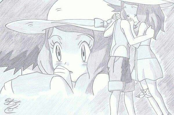 This is one of my favorite episodes and Amourshipping moments ^_^ ^.^ ♡ I give good credit to whoever made this