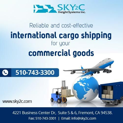 #Sky2c provides International and Domestic Commercial cargo Shipping Services for your Commercial Goods at affordable rates. #CommercialCargoServices