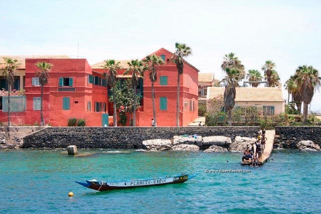 Gorée   Au Senegal