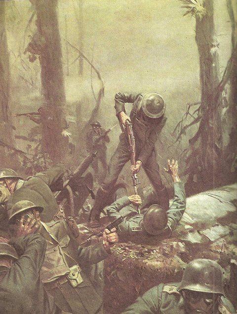Battle of Belleau Wood U.S. Marines in WWI