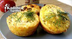 Unsuz Peynirli Muffin Tarifi | Kadınca Tarifler | Kolay ve Nefis Yemek Tarifleri Sitesi - Oktay Usta