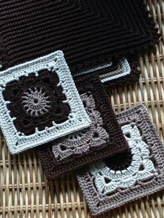 Crochet Me Lovely - mirigurumi: Unique Granny Squares - Free Pattern...