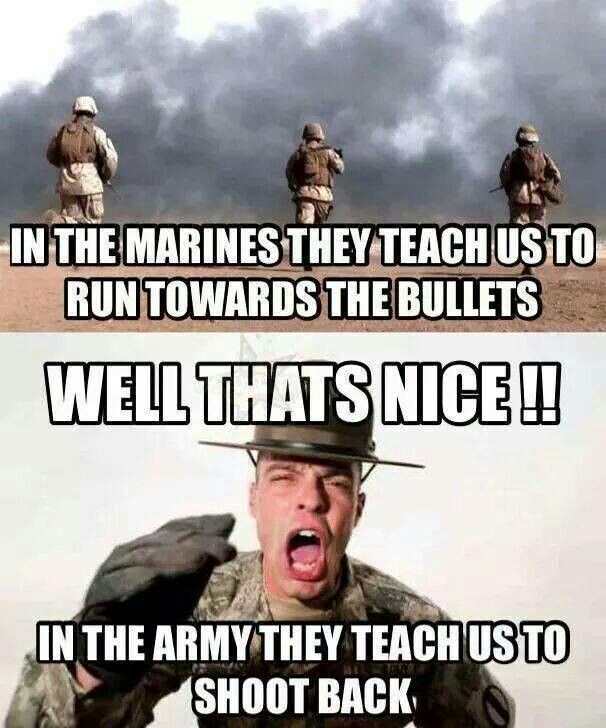 Lol Military Meme/Marines/Army