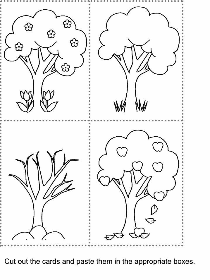 free cut and paste worksheets for kindergarten 4 Free Cut And Paste Worksheets For Kindergarten