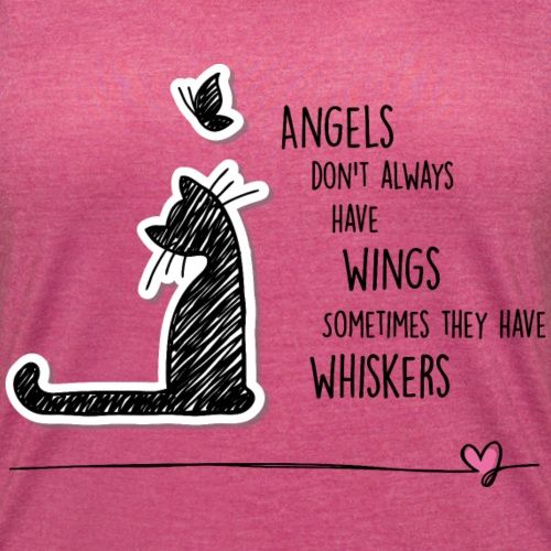 Cat Angel Women's T-Shirt | CAT Shirts and Accessoires for CAT Lovers
