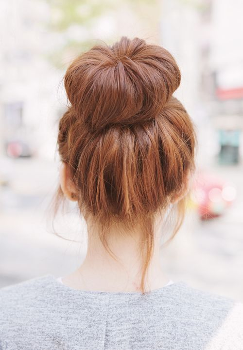 A sleek ballerina bun is the perfect hairdo for work, a night-out, a date, and more.