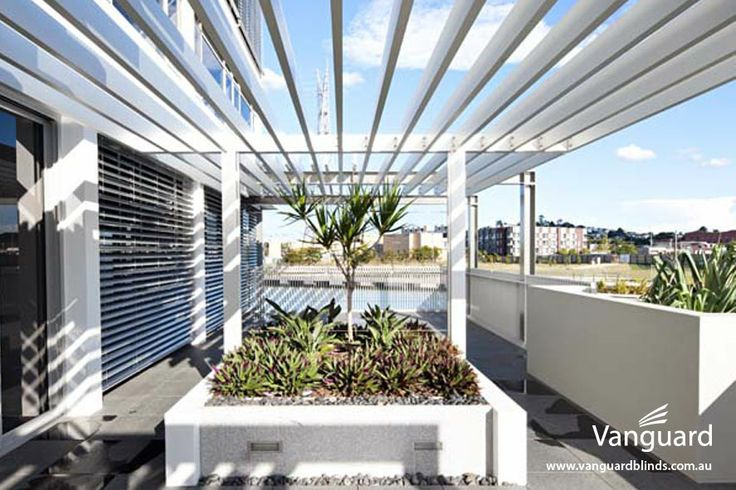 Waterfront by Mirvac (Newstead, Brisbane) Installation of louvres, shutters & opening roofs