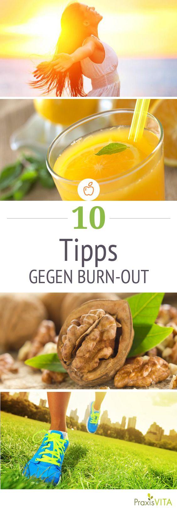 Entdecken Sie 10 effektive Strategien gegen Stress und das Burnout-Syndrom.