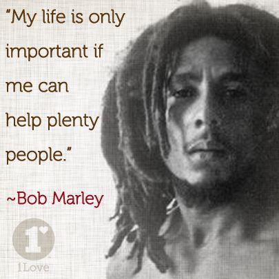 My life is only important if me can help plenty people.