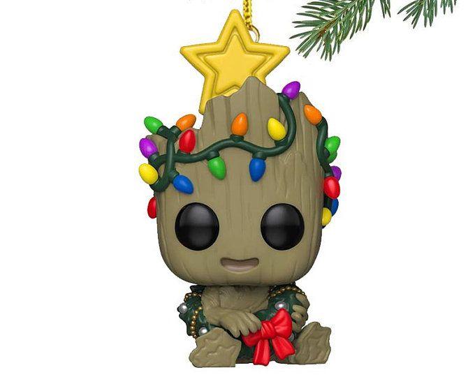Christmas Groot Pop 2020 Felt Christmas ornaments, christmas decorations, bird ornaments