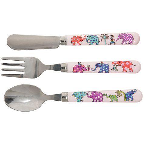 Buy Tyrrell Katz Elephant Cutlery Set Online at johnlewis.com