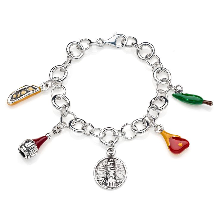 Sterling Silver Luxury Bracelet - Toscana - 249 Euro Free worldwide shipping over 99 Euro