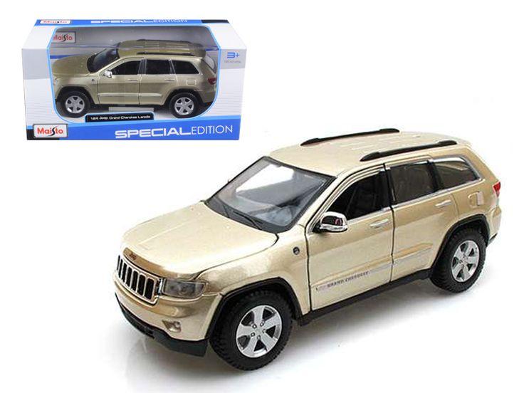 2011 Jeep Grand Cherokee Gold 1/24 Diecast Model Car by Maisto