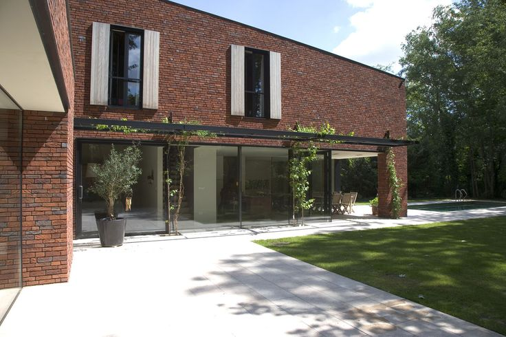 Woning VI House by Iglesias Leenders Bylois Architecten - Belgium