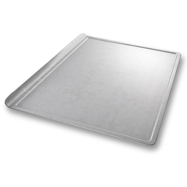 Heavy duty baking sheet is perfect for all of your sweet creations! - 12 gauge aluminum, non-stick glazed coating - Professional quality, Restaurant grade Size: 14 x 18 inches