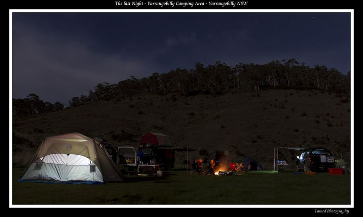 Yarrangobilly Camping Area