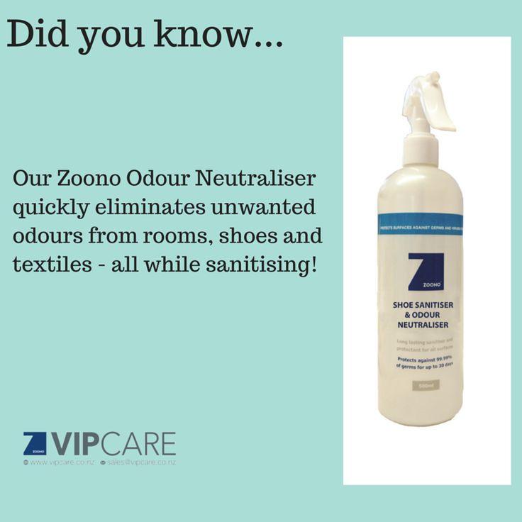 Zoono Odour Neutraliser  visit www.vipcare.co.nz