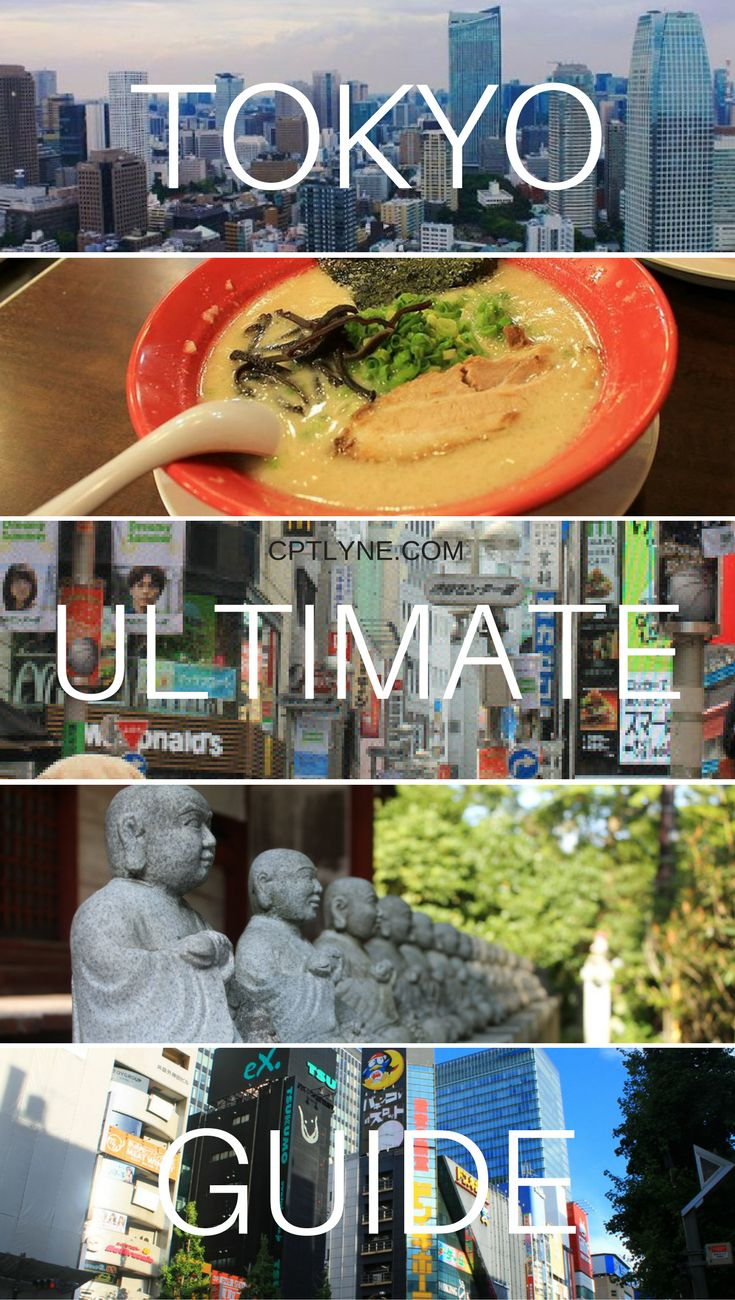 Tokyo Ultimate Guide What to see, what to do and what to eat, basically everything you need to know about the busy city of Tokyo, Japan. #Tokyo #Japan #travel