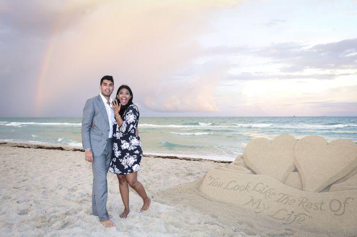 Miami Proposal Photography – Miami Surprise Proposal Ideas