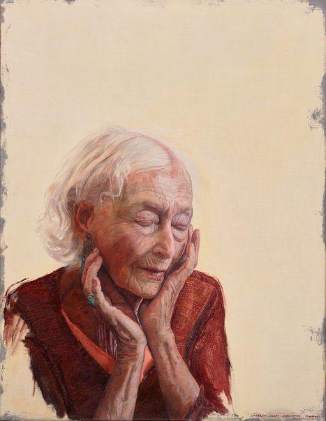 Andrew Lloyd Greensmith: The inner stillness of Eileen Kramer :: Archibald Prize 2017 :: Art Gallery NSW