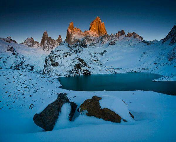 Torres del Paine -Bases las Torres Magallanes - CHILE