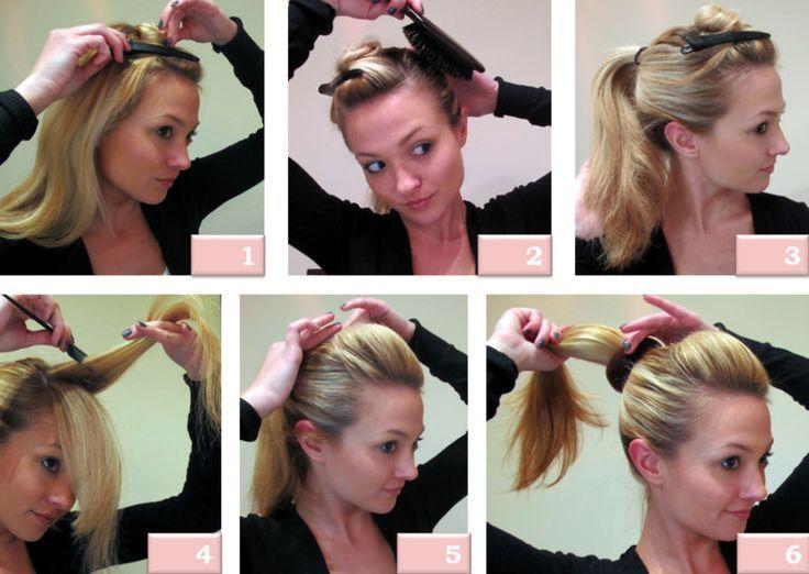 Instructions de coiffure Nouvelles idées de coiffage rapides et faciles avec instructions