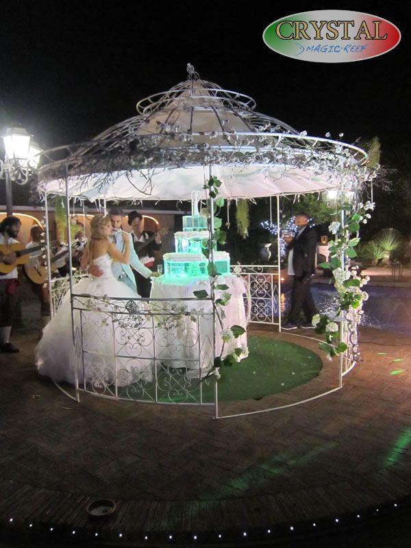 "https://flic.kr/s/aHskpXihcq | matrimonio stile marino | Scegli la torta acquario per un matrimonio in stile marino  ""Wedding Crystal, cake aquarium. The photos taken during a marriage with marine theme  www.magicreef.it"