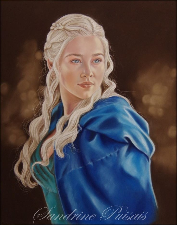 Daenerys  pastel sec