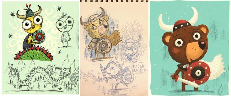 Children S Book Character Design : Best richard scarry images on pinterest