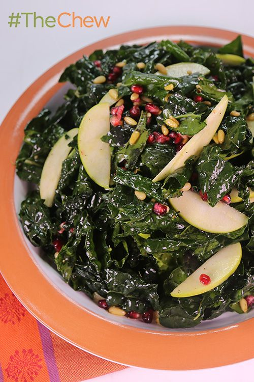 Christmas Kale Salad by Daphne Oz - this tasty salad proves that the holidays can be yummy AND healthy!
