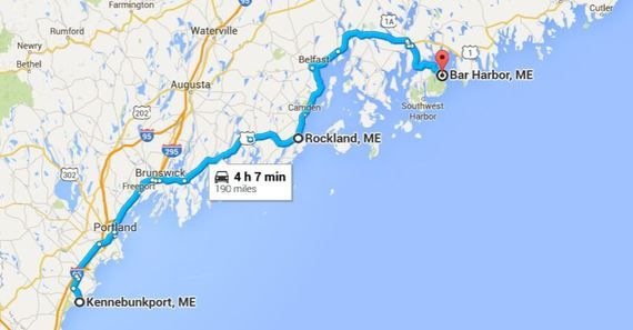 Plan the Perfect Maine Coastal Road Trip, the Easy Way