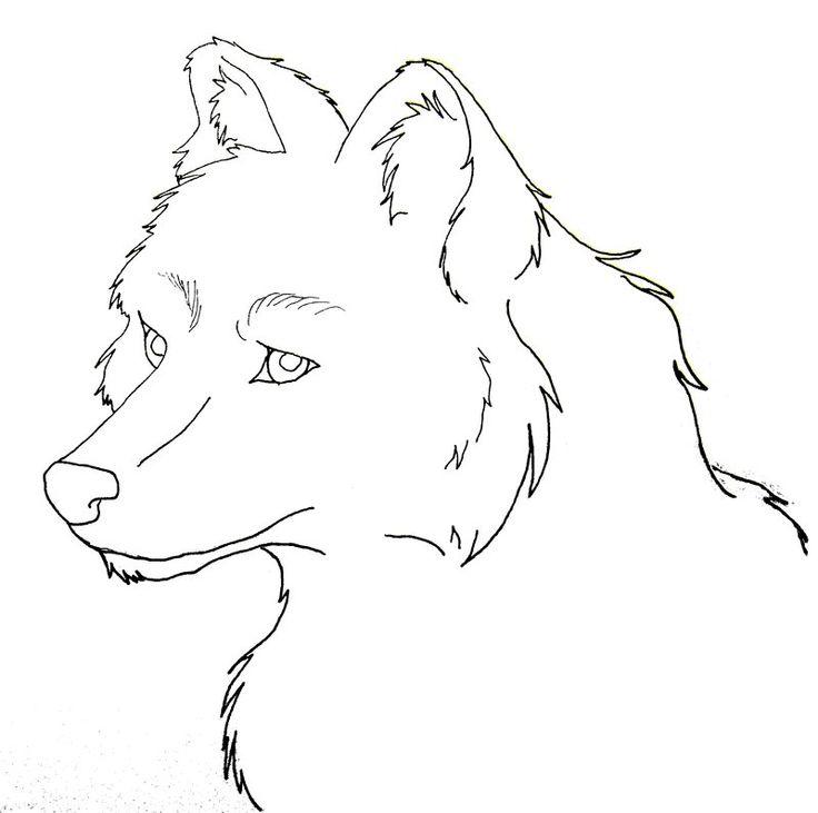 Надписью люблю, раскраска волк прикольный