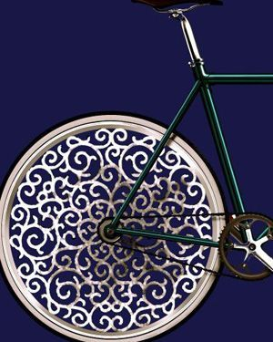 TrendTuesday: Bicycle art. #design #bicycles #love