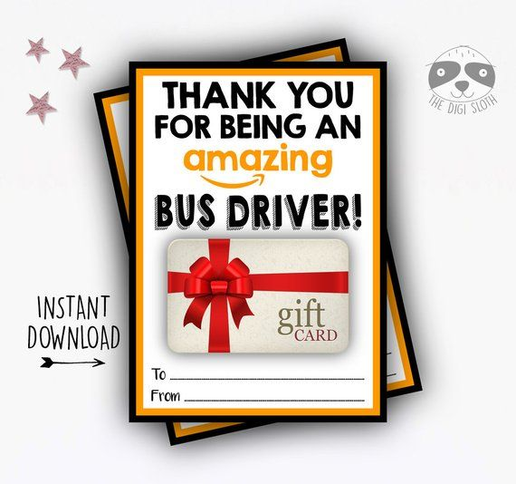 PRINTABLE Amazon Gift Card Holder - INSTANT DOWNLOAD - Thank