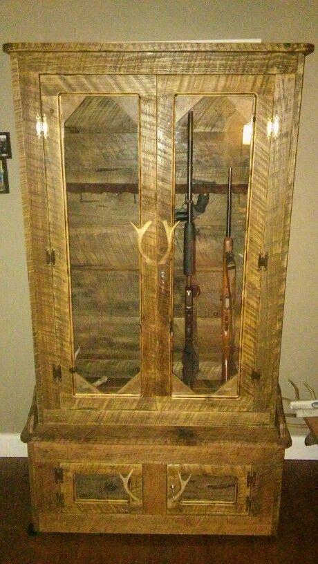 Rustic gun cabinet                                                                                                                                                                                 More