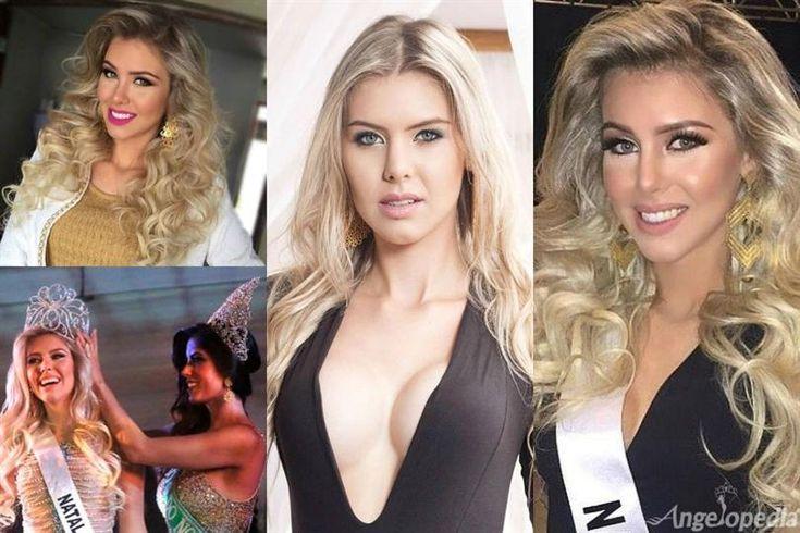 Manoella Alves Miss Rio Grande do Norte 2015 for Miss Brazil 2015