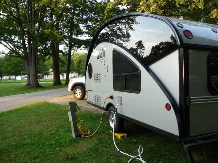 North Beach Campground located in Burlington, operated by the city, on Lake Champlain.