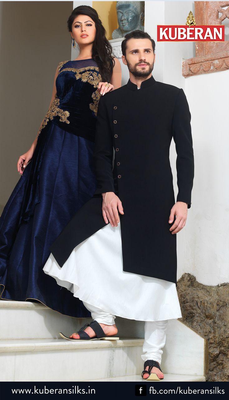 Kuberan Black White Sherwani #blackwhitesherwani #sherwanionline #latestcollection #newarrival #weddingsherwani #designersherwani #onlineshopping #bluesherwani #onlineshopping #kuberansherwani #onlinesherwani