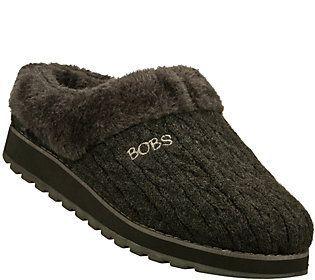 Skechers Bobs Knit Clog Slippers - Keepsakes -Delight-Fall