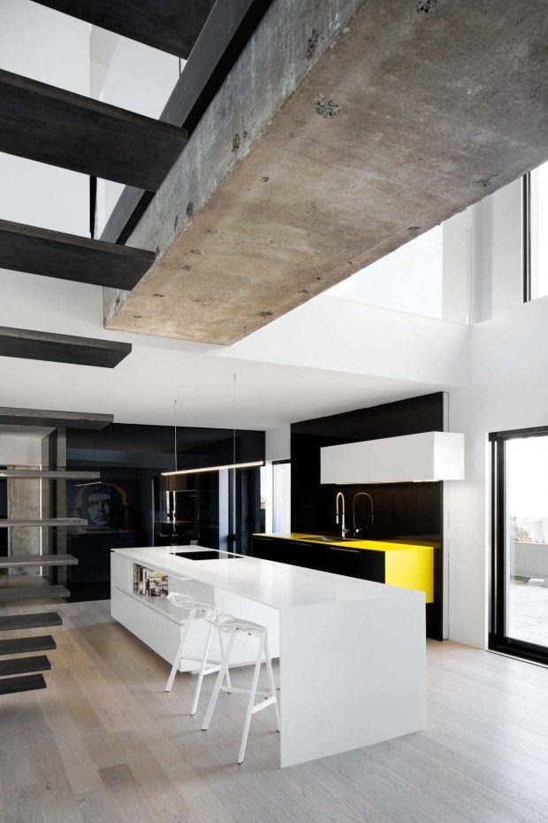 Les 25 meilleures id es de la cat gorie loft urbain sur for Habitat 67 interieur
