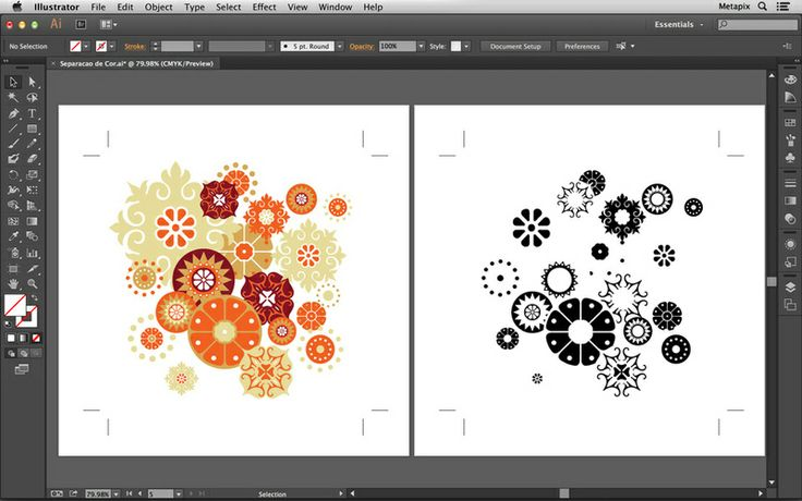 how to make a vignette in illustrator cs6