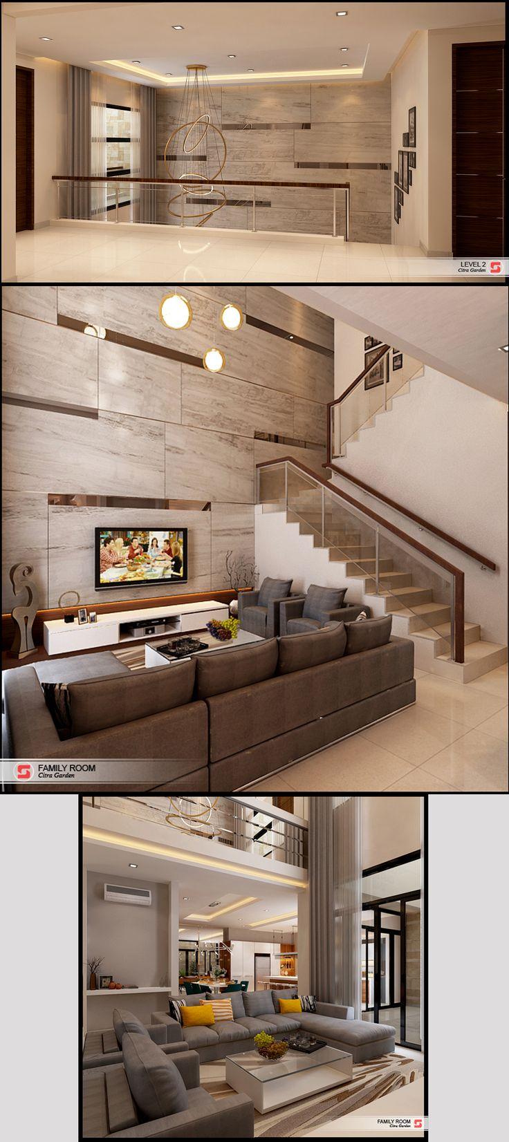 Family Living Room  D House Residential Medan, Sumatera Utara Indonesia