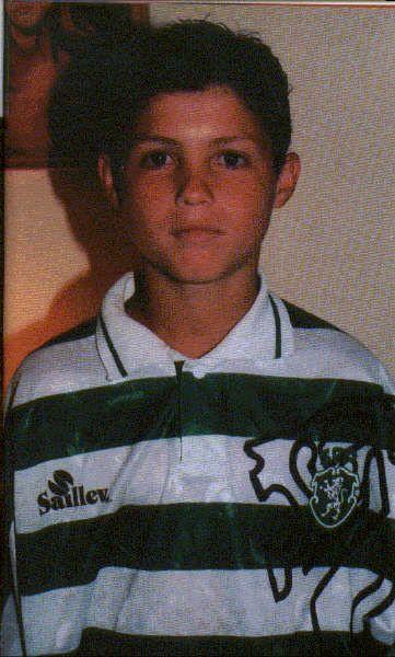 A young Cristiano Ronaldo