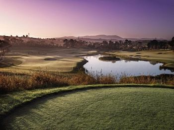 Yarra Valley Heritage Golf Course (just outside our hotel!)