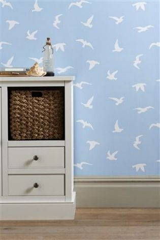 Buy Seagull Wallpaper from the Next UK online shop