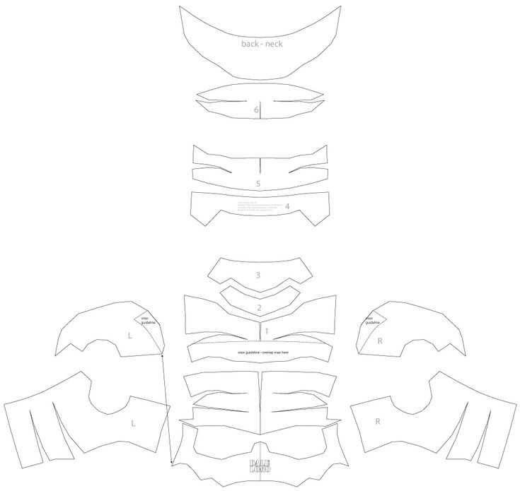deathstroke armor template - 107 best images about dali diy projects on pinterest diy