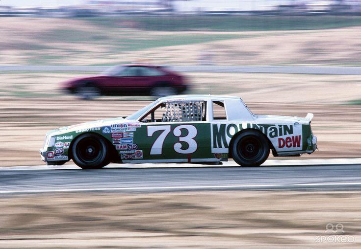 NASCAR Winston Cup Series driver Bill Schmitt (73) during ...