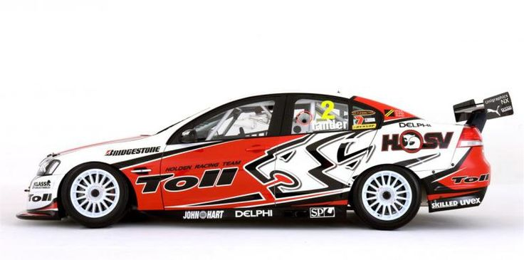 2010 Toll Holden Racing Team V8 Supercar Commodores unveiled