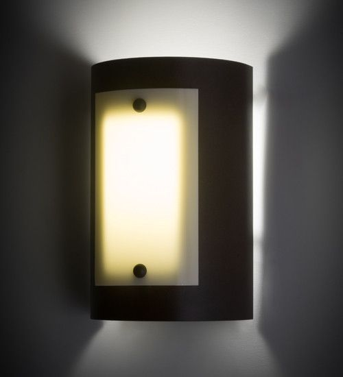 "8""W Panera Contemporary Wall Sconce"